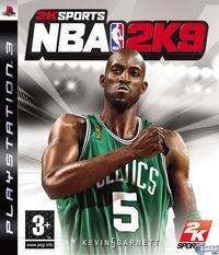Portada oficial de NBA 2K9 para PS3