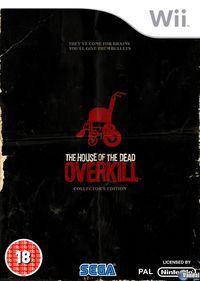 Portada oficial de House of the Dead Overkill para Wii
