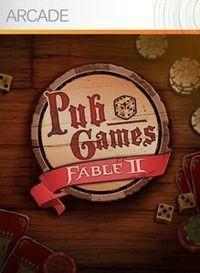 Portada oficial de Fable II Pub Games XBLA para Xbox 360