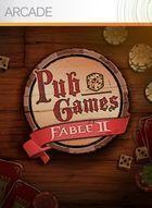 Portada oficial de de Fable II Pub Games XBLA para Xbox 360