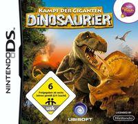 Portada oficial de Combate de Gigantes: Dinosaurios para NDS