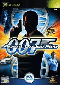 Portada oficial de 007: Agent Under Fire para Xbox