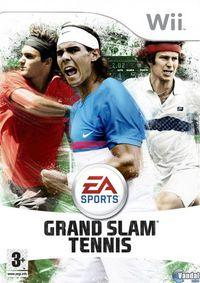 Portada oficial de EA Sports Grand Slam Tennis para Wii