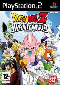 Portada oficial de Dragon Ball Z: Infinite World para PS2