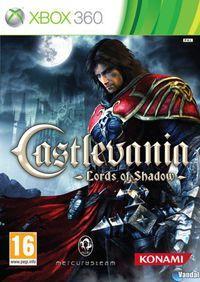 Portada oficial de Castlevania: Lords of Shadow para Xbox 360