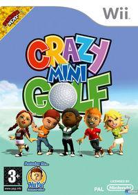 Portada oficial de Crazy Mini Golf para Wii