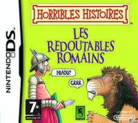Portada oficial de Horrible Histories para NDS