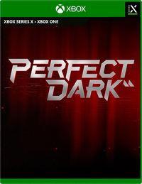 Portada oficial de Perfect Dark para Xbox Series X/S