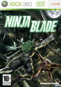 Portada oficial de Ninja Blade para Xbox 360