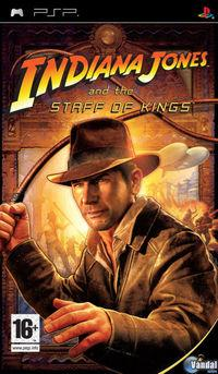 Portada oficial de Indiana Jones and the Staff of Kings para PSP