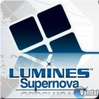 Portada oficial de Lumines SuperNova PSN para PS3