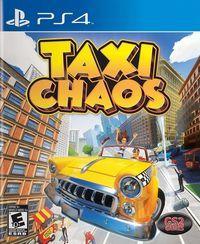 Portada oficial de Taxi Chaos para PS4