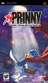 Portada oficial de Prinny: Can I Really Be The Hero?  para PSP