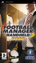 Portada oficial de de Football Manager Handheld 2009 para PSP