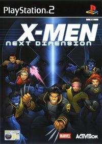 Portada oficial de X-Men: Next Dimension para PS2