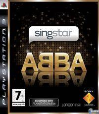 Portada oficial de SingStar ABBA para PS3