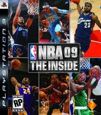 Portada oficial de NBA 09 para PS3