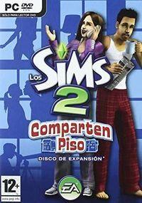 Portada oficial de Los Sims 2 Comparten piso para PC