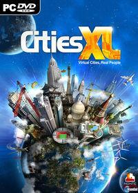 Portada oficial de Cities XL para PC