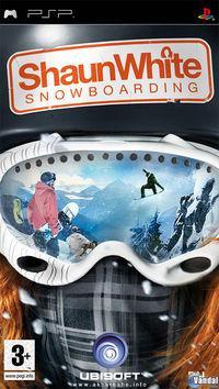 Portada oficial de Shaun White Snowboarding para PSP