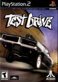 Portada oficial de Test Drive Overdrive para PS2