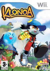 Portada oficial de Klonoa: Door to Phantomile para Wii