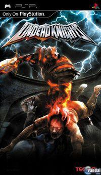 Portada oficial de Undead Knights para PSP