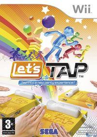 Portada oficial de Let's Tap para Wii