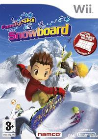 Portada oficial de Family Ski and Snowboard para Wii
