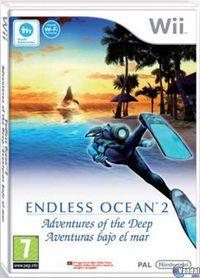 Portada oficial de Endless Ocean 2: Adventures Of The Deep para Wii