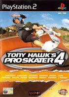 Portada oficial de de Tony Hawk's Pro Skater 4 para PS2