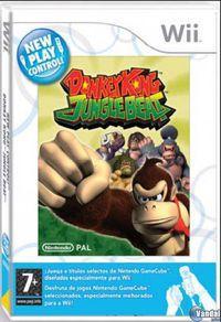 Portada oficial de Donkey Kong Jungle Beat para Wii