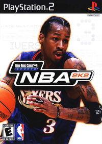 Portada oficial de NBA 2K2 para PS2