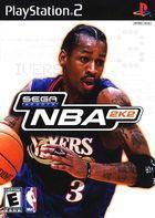 Portada oficial de de NBA 2K2 para PS2