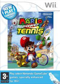 Portada oficial de Mario Power Tennis para Wii