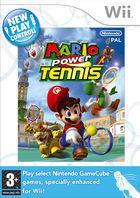 Portada oficial de de Mario Power Tennis para Wii