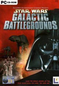 Portada oficial de Star Wars: Galactic Battlegrounds para PC