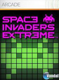Portada oficial de Space Invaders Extreme XBLA para Xbox 360