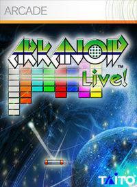 Portada oficial de Arkanoid Live XBLA para Xbox 360