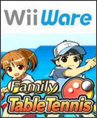 Portada oficial de Family Table Tennis para Wii