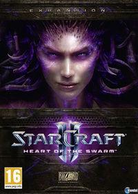 Portada oficial de StarCraft II: Heart of the Swarm para PC