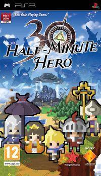 Portada oficial de Half Minute Hero para PSP
