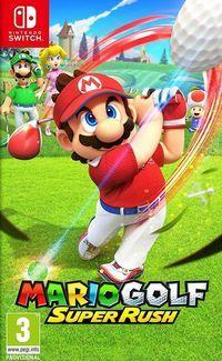 Portada oficial de Mario Golf: Super Rush para Switch
