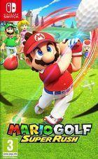 Portada oficial de de Mario Golf: Super Rush para Switch