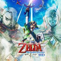 Portada oficial de The Legend of Zelda: Skyward Sword HD para Switch