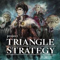 Portada oficial de Triangle Strategy para Switch