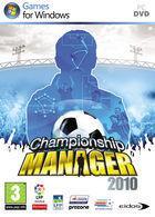 Portada oficial de de Championship Manager 2009 para PC
