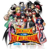 Portada oficial de SNK vs. Capcom: The Match of the Millennium para Switch