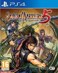 Portada oficial de Samurai Warriors 5 para PS4