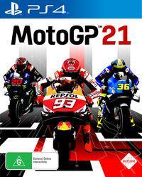 Portada oficial de MotoGP 21 para PS4